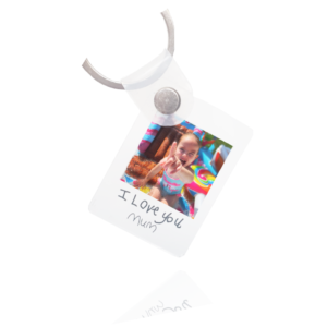 Actual Handwriting & Photo Keyring - Inscripture - Handwriting Keyring