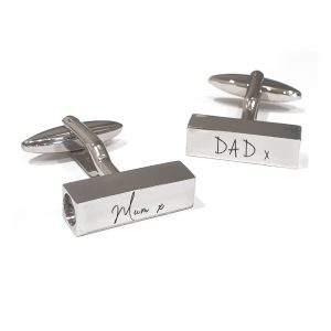Ashes Handwriting Urn Cufflinks - Inscripture - Ashes Jewellery