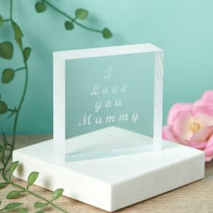 Acrylic Handwriting Token - Inscripture - Handwriting Gifts