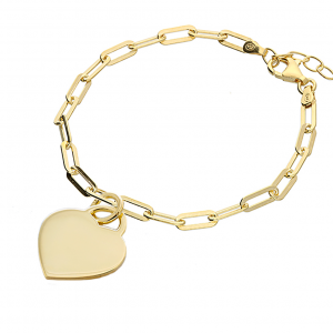 Handwriting Gold Oval Clasp Bracelet - Inscripture - Handwriting Jewelry