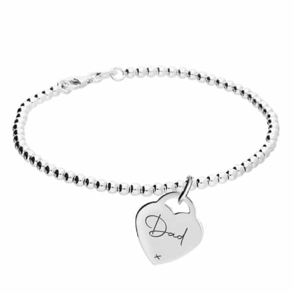 Inscripture - Sterling Silver Clasp Bracelet