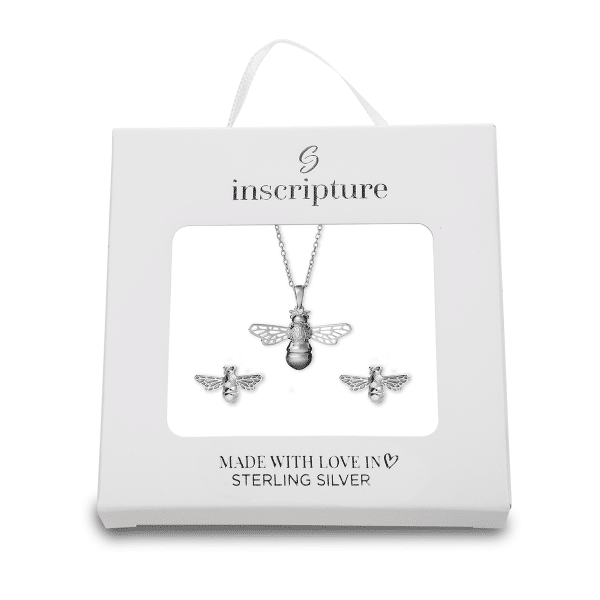 Silver Bee Gift Box