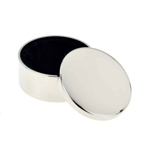 Handwriting Engraved Round Trinket Box | Inscripture