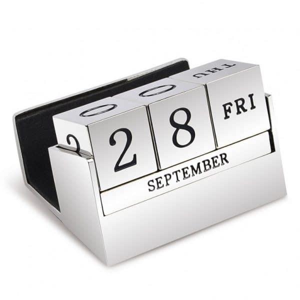 Handwriting Engraved Desktop Calendar - Inscripture