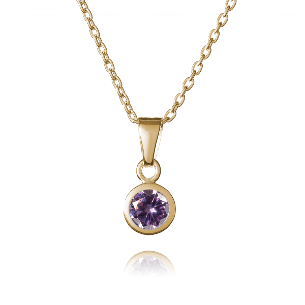 Inscripture- Gold June Birthstone
