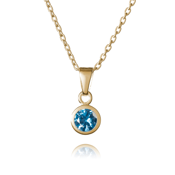 Inscripture- Gold December Birthstone